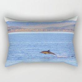 Porpoise in Pursuit Rectangular Pillow