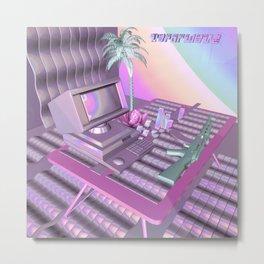 Vaporwave Metal Print