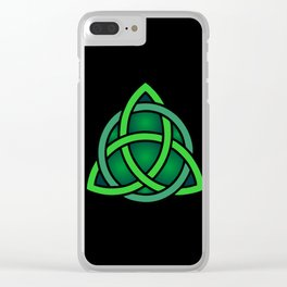 celtc knot symbol Clear iPhone Case