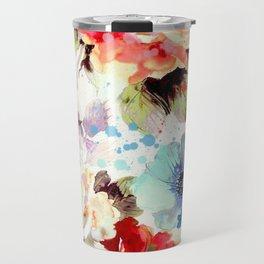 Poppies 03 Travel Mug