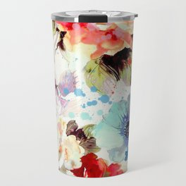 Poppies 03 Travel Mug