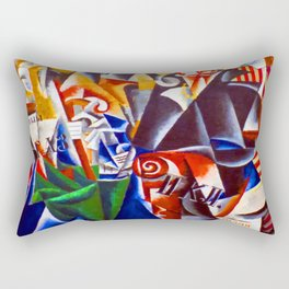 Lyubov Popova The Traveler Rectangular Pillow
