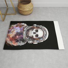 Cosmic skull Rug