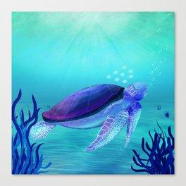 Underwater friends Canvas Print