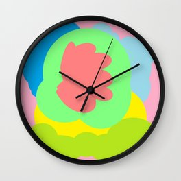 Peep out watch it Wall Clock