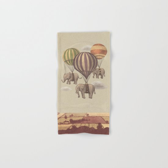 Flight of the Elephants  Hand & Bath Towel