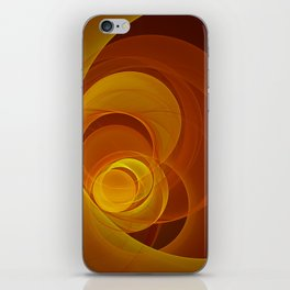 Warmth, Fractal Art Abstract iPhone Skin