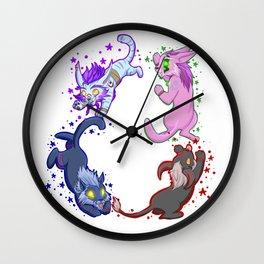 Team Feral Wall Clock