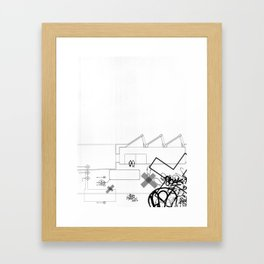AutoCUNT 002 Framed Art Print
