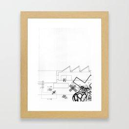 AutoCUNT 002 Framed Art Print
