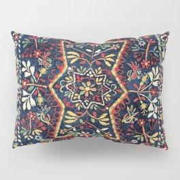 North Indian Floral Rug Print Pillow Sham