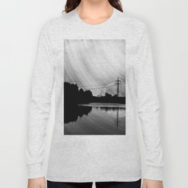 Nature lake in swabia Long Sleeve T-shirt
