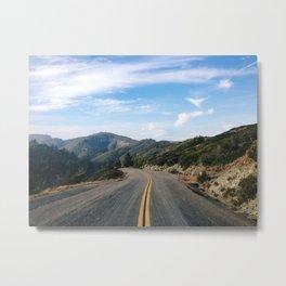 Fairfax-Bolinas Road Metal Print