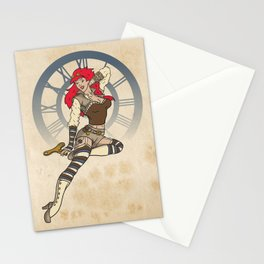 Clockwork Cutie Stationery Cards