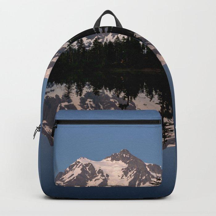 Mt. Shuksan - Blue Hour Reflection Backpack