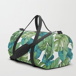 Tropical leaves II Duffle Bag