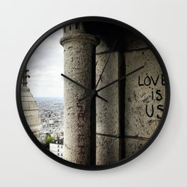 Love is Us Wall Clock