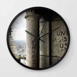 Love is Us Wall Clock