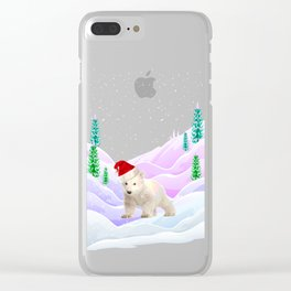 Save My Home | Christmas Spirit Clear iPhone Case