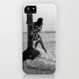 Testing the waters iPhone Case