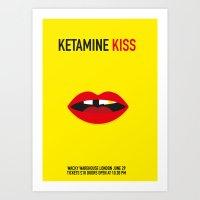 Ketamine Kiss Art Print