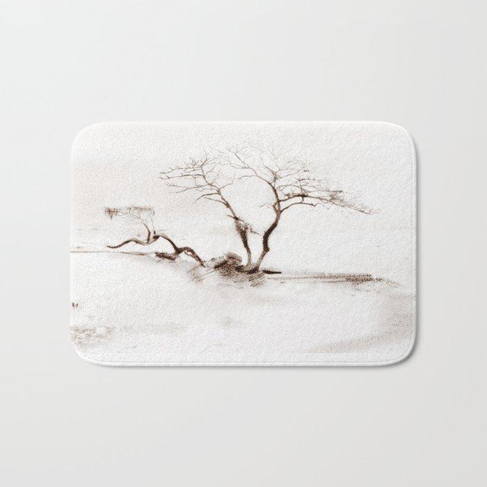 Scots Pine Sepia Bath Mat