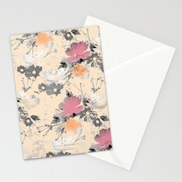 ombre floral - all Stationery Cards