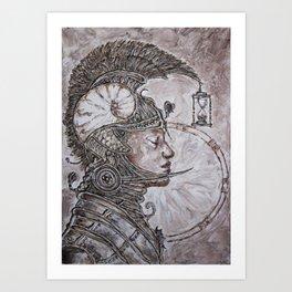 time warrior Art Print