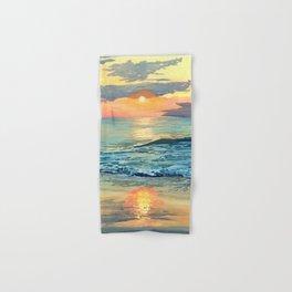 Crashing Waves Sunset Hand & Bath Towel
