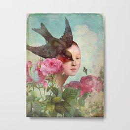 The Silent Garden Metal Print
