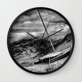Dune Sailing Wall Clock