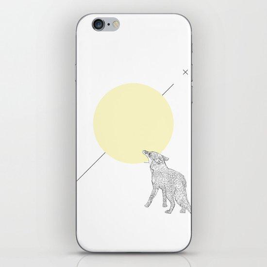 Bite the moon iPhone & iPod Skin