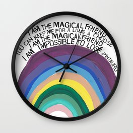 MAGICAL FRIEND Wall Clock