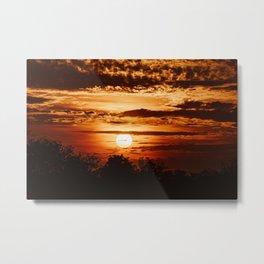 Waco Sun Metal Print
