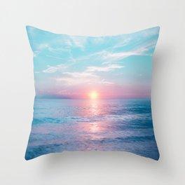 Pastel vibes 13 Throw Pillow