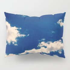 Blue and White Pillow Sham