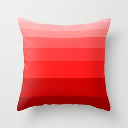 Shades of Red. Throw Pillow