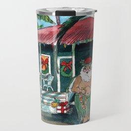Mele Kalikimaka Travel Mug