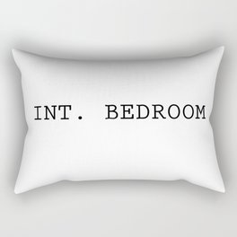 INT. BEDROOM Rectangular Pillow