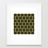 ethnic Framed Art Prints featuring ethnic by clemm