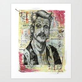 Gypsy Punk Eugene Hütz Art Print