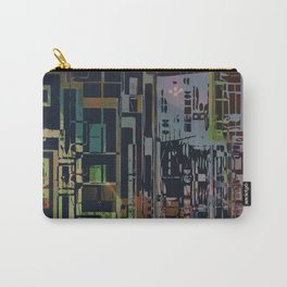 Where Are YOU -4 / Urban Density Carry-All Pouch