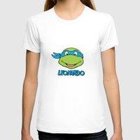 leonardo T-shirts featuring Leonardo by husavendaczek