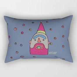 A Santa Rectangular Pillow