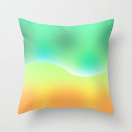 aura Throw Pillow