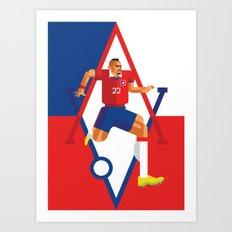 AV23 | La Roja Art Print