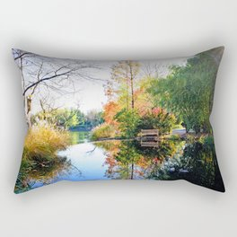 Just Another Autumn Scene Rectangular Pillow