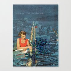 Painting our City Canvas Print