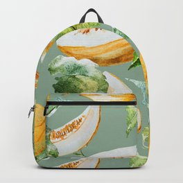 Honeydew Melon Pattern Backpack