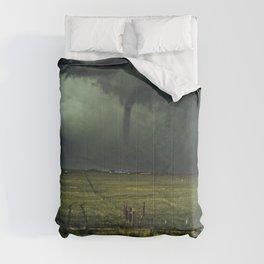 Tornado Coming (Color) Comforters